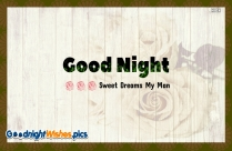 Good Night Handsome Greeting