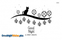 Good Night With Sweet Dreams