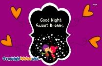 Good Night Sweet Dreams Couple