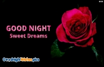 Good Night Sweet Dreams For Girlfriend