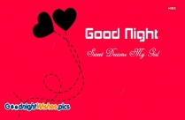 Good Night Sweet Dreams Girl
