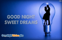 Good Night Sweet Dreams Greetings