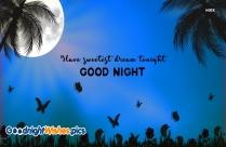 Good Night Sweet Dreams Heart Shape