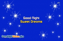 Good Night Sweet Dreams Star