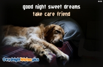 Good Night Sweet Dreams Take Care