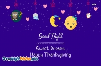 Good Night and Thanksgiving Wishes