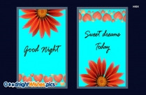 Good Night Sweet Dreams Girlfriend