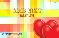 Good Night Sweet Dreams Sweetheart