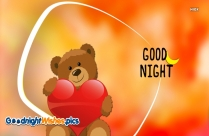 Good Night Teddy Bear