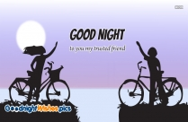 Good Night To You My Trusted Friend