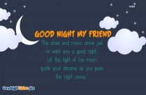 Good Night My Friend Quotes