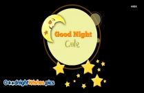 Good Night Wishes Cute Baby