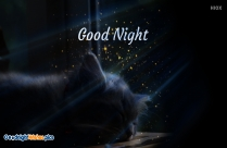 Simple Good Night Wishes Image