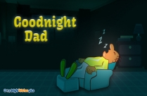 Good Night Wishes Dad