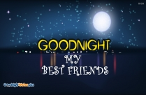 Good Night Wishes For Best Friends