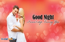 Good Night Wishes For Darling