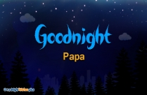 Good Night Wishes Papa