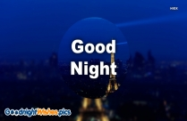 Good Night Wishes Pic