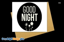 Good Night Wishes Image Download