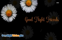 Good Night Wishes To Friends