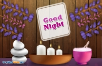 Good Night Wishes With Teddy