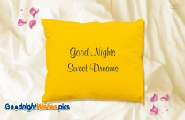 Good Night Sweet Dreams Bird Image