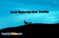 Goodnight Quotes for Family Pictures, Imags