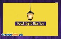 Good Night With Miss U