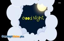 Good Night With Moonlight