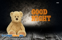 Good Night With Teddy