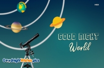 Good Night World Images