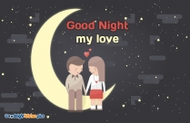 Romantic Good Night Wishes For Him