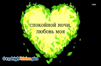 Goodnight My Love In Russian