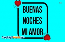Goodnight My Love In Spanish