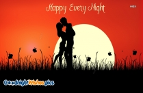 Good Night Romantic Pic