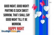 Happy Night Rest Quotes