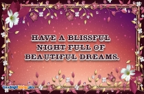 Good Night Wishes Hd Image