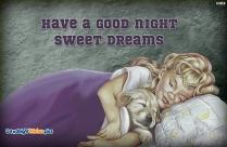 Good Night And Happy Dreams