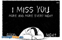 Missing U Is The Thing I Can't Explain. I Love You. Good Night.