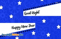 New Year Good Night Image