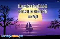 Wishes For Good Night Sleep