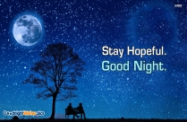 Good Night Positive Wishes