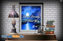 Heart Good Night Wallpaper