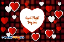 Love Good Night Sms