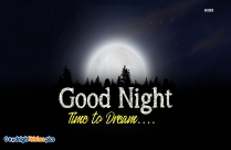 I Hereby Wish You A Night Full Of Sweet Dreams