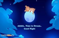 Good Night Cute Image