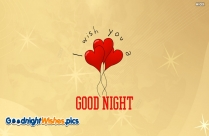 Wishing Someone A Good Night
