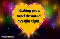 Wishing You A Sweet Dreams