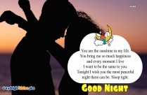 I Love You So Much. Good Night Quotes