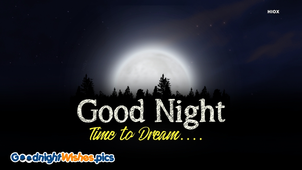 Good Night Wishes for Dream